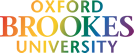 Oxford Brookes logo in pride colours.
